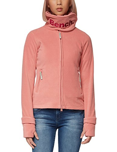 Bench Damen Funnel Neck Fleecejacke, Light Pink, S