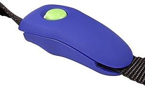 PetSafe - Clicker Training Clip Clik-R pour Laisse, Outil de dressage Professionnel pour Chien à Fixer sur la Laisse / Pratique - Dressage Facile