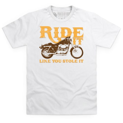 Like You Stole It T-Shirt, Herren Wei