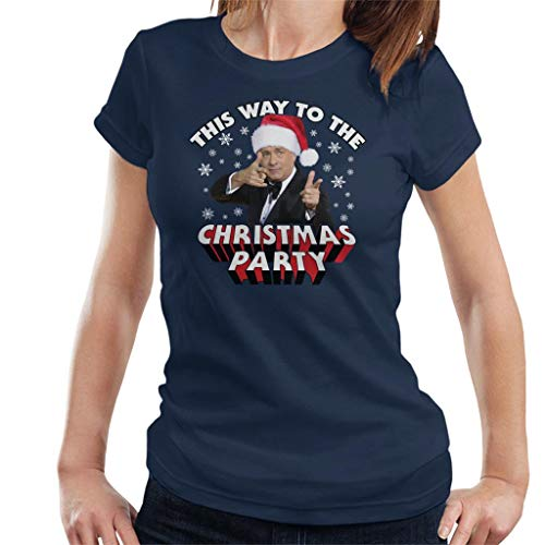 (Tom Hanks This Way to The Christmas Party Women's T-Shirt)