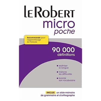 Dictionnaire Le Robert Micro Poche Pdf Download Terryfishke