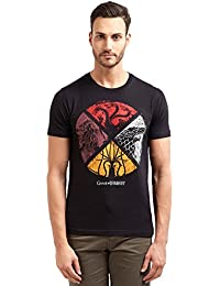 Redwolf Sigil Shield HBO® Licensed Game Of Thrones Half Sleeve Cotton T-shirt
