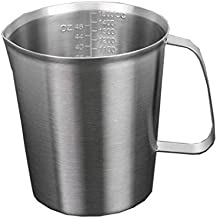 500ml/700ml/1000ml/1500ml jarra de leche con vaso medidor, restbuy jarra de acero inoxidable, Café Leche Jarra Jarra para schiumare