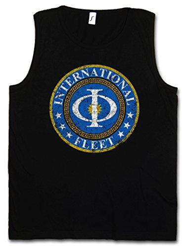 Urban Backwoods Vintage International Fleet Logo Vest Tank Top Muscle Shirt - Ender´s Orson Scott Card Game Vest Tank Top Muscle Shirt Sizes S – 5XL