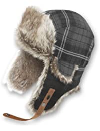 IGNITE Mütze Plaid für II - Gorro de esquí para mujer, color negro, talla L/XL