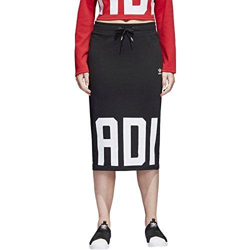 adidas Damen Rock Schwarz schwarz Gr. 46, schwarz (Adidas Damen Rock)