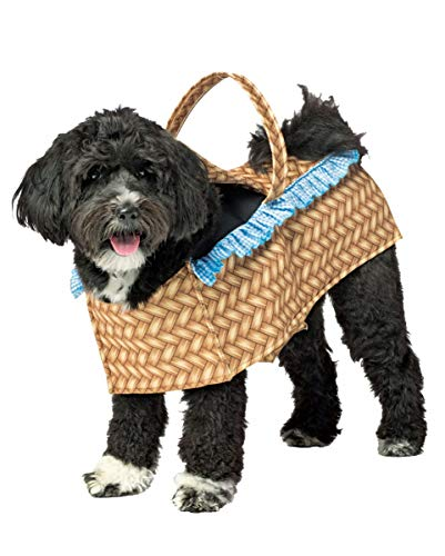 Mob Kostüm - Horror-Shop Hund im Körbchen Hundekostüm als