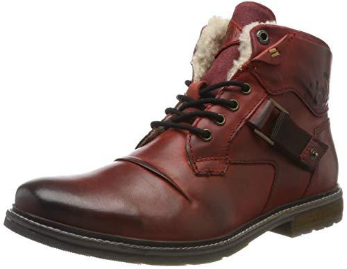Herren Stiefel Rot - Bugatti Herren 321622561200 Klassische Stiefel, Rot,