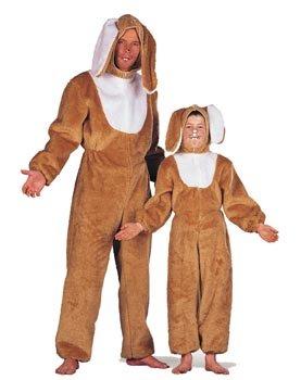 Kind Hase Kostüm - Wilbers Federbein Hase Kinder Kostüm (9-10Jahre)