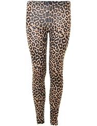 Womens leggings léopard pantalon