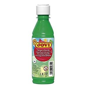 Jovi- Tempera liquida, Color Verde Medio, 250 ml (50217)