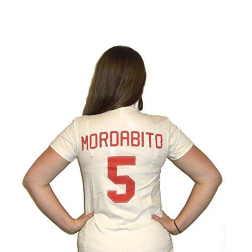 rdabito #5 Rockford Peaches Jersey T-Shirt-Womens Small (Rockford Peaches)