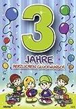 Archie Geburtstagskarte zum 3. Geburtstag Junge grün Glückwunschkarte Kinder
