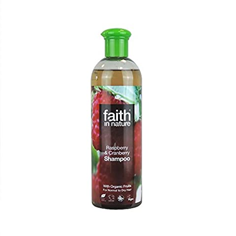 Faith in Nature - Raspberry & Cranberry Shampoo - 400ml (Case of 6)