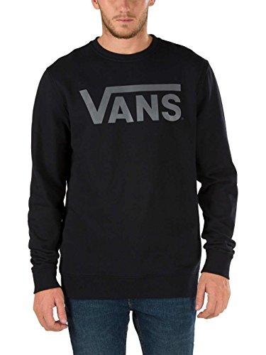 Vans - Vans Classic Crew, Felpa da uomo Nero