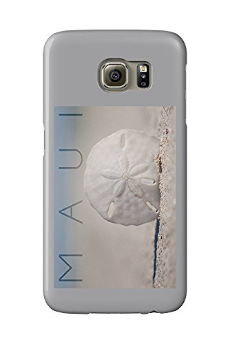 Maui - Sand Dollar on Beach (Galaxy S6 Cell Phone Case, Slim Barely There)
