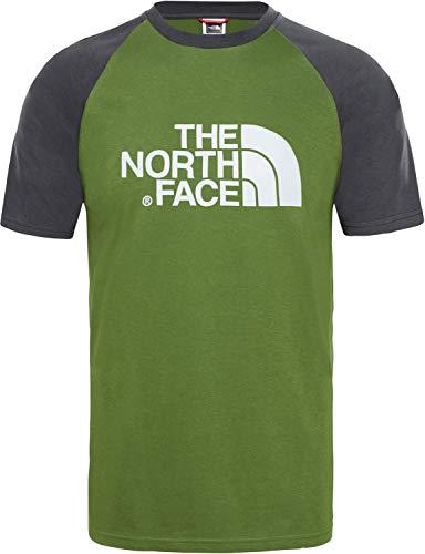 3fa37e9d94 The North Face Raglan Easy T- T-Shirt Homme, Vert (Garden Green