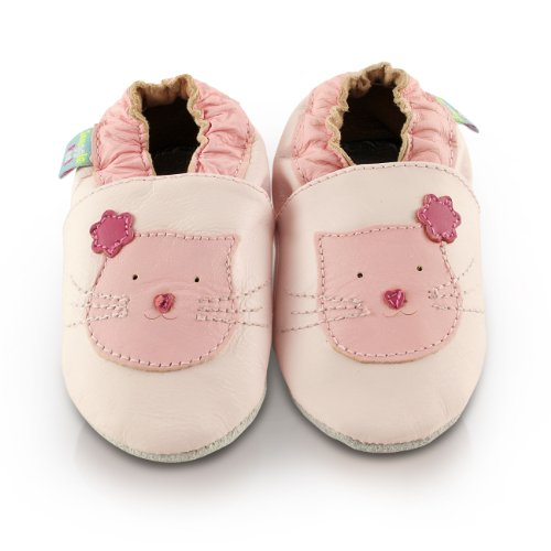 snuggle-feet-pink-cute-kitten-soft-leather-baby-shoes-12-18-months