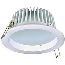 Ledbox LD1010214 - Foco Downlight LED Cronos Bol, regulable, 16 W, color blanco neutro