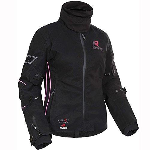 Rukka Suki Motorcycle Jacket Ladies Black/Pink
