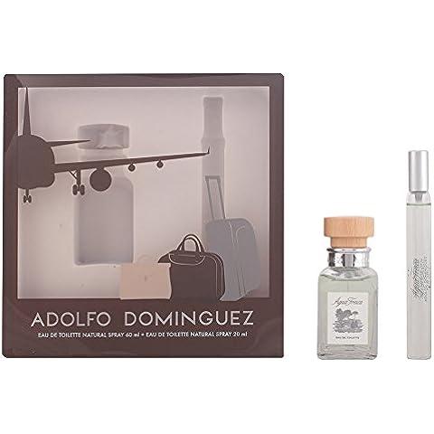 ADOLFO DOMINGUEZ AGUA FRESCA LOTE 2 piezas