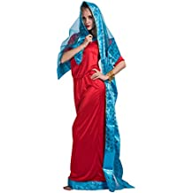 EraSpooky Señoras Rojo Bollywood Asiáticos Jasmine ...