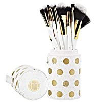BH Cosmetics Dot Collection - 11 Piece Brush Set White