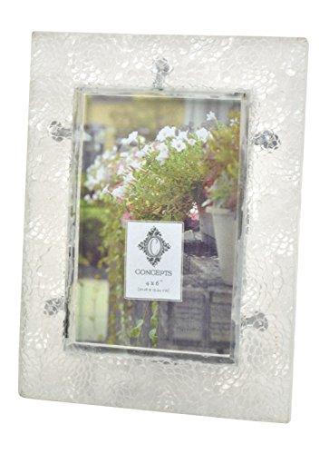 Concepts Glas klar Strukturiert Bilderrahmen 10,2x 15,2cm