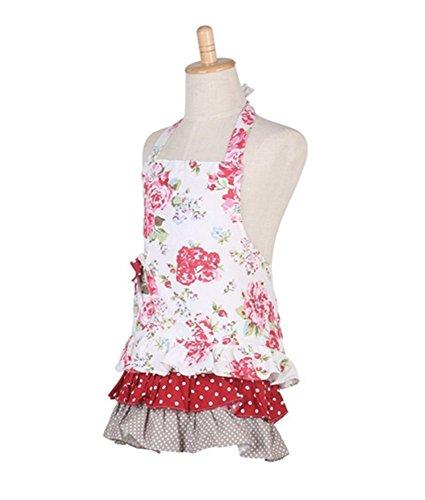 Cute Cotton Aprons for Women Gir...