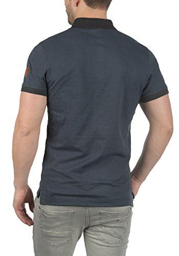 Blend Ralf Herren Poloshirt T-Shirt Kurzarm mit Polokragen Aus 100% Baumwolle Slim Fit India Ink (70151)