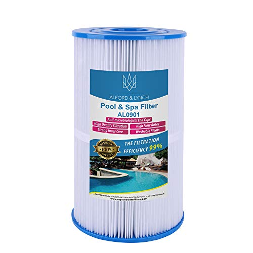 Mikro-filtration Ersatz-filter (Alford & Lynch Ersatzfilter für Watkins 31489, Pleatco PWK30, Filbur FC-3915, Unicel C-6430 Spa Filter für Hot Spring Spas & Watkin Spas)