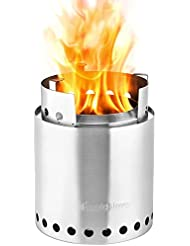 Solo Stove Campfire - Largest Version of Original Solo Stove. Super-efficient Wood Burning
