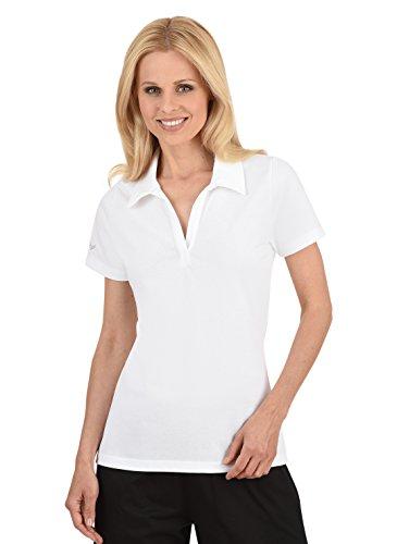 Trigema Polo Femme Blanc