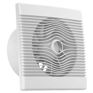 Ventilator Badlüfter Wandventilator Lüfter Ø 100 , 120 , 150 Standard , WC Bad Küche , AirRoxy pRemium (Ø 150)