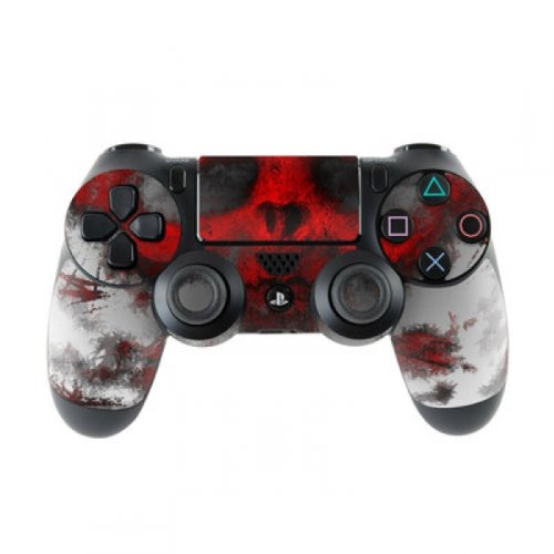 Skins4u Sony Playstation 4 Skin PS4 Controller Skins Design Sticker Aufkleber styling Set auch für Slim & Pro - War Light