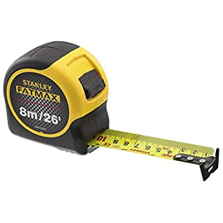 STANLEY FATMAX Classic Tape with Blade Armor, 8m/26ft