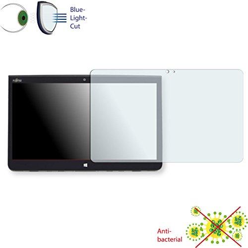 Película de protección de pantalla DISAGU ClearScreen para Fujitsu Tablet STYLISTIC Q736 antibacterial, filtro BlueLightCut película de protección