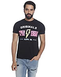 Jack & Jones Mens T-Shirt (5713444397005_12120519Black_X-Large)