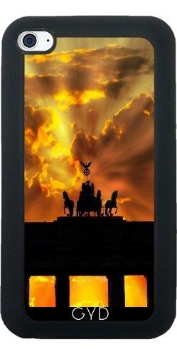 Custodia in silicone per Iphone 7 / Iphone 8 - Porta Di Brandeburgo Di Berlino by WonderfulDreamPicture Silicone