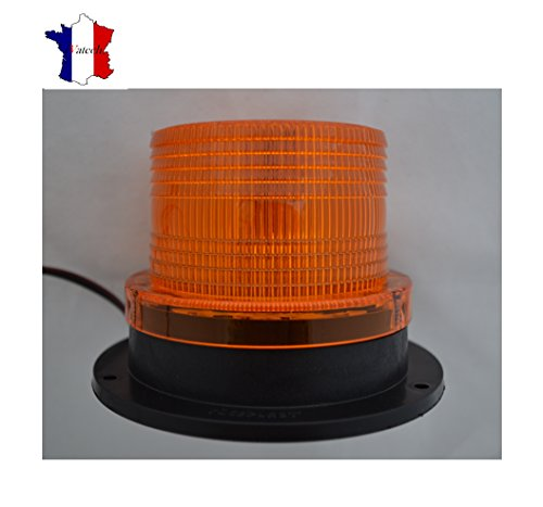 12 V LED Auto LKW Magn & # X439; Zecke ca. Flash Beacon Strobe Emergency Lamp -