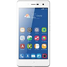 "ZTE Blade L7 - Smartphone de 5"" (WiFi, procesador SC 7731C Quad core 1.2 GHz, 1 GB de RAM, memoria interna de 8 GB, cámara de 8 MP, Android M), color blanco"