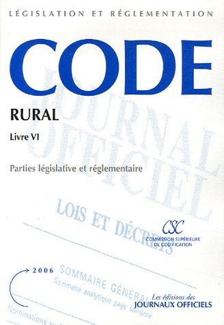 Code rural : Livre VI, Production et marchés