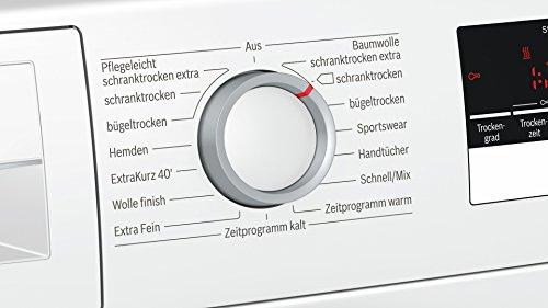 Bosch WTH85200 A++ / Wärmepumpentrockner / LED-Display / 212 kWh/Jahr / 7 kg / weiß