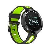 Smartwatch Inteligente Artificial Domino DM58 Pantalla táctil Grande OLED de 0,95 Pulgadas Pulsera Inteligente Deportiva, IP68 a Prueba de Agua y Polvo, Podómetro/Monitor de Ritmo cardíaco/Monitor