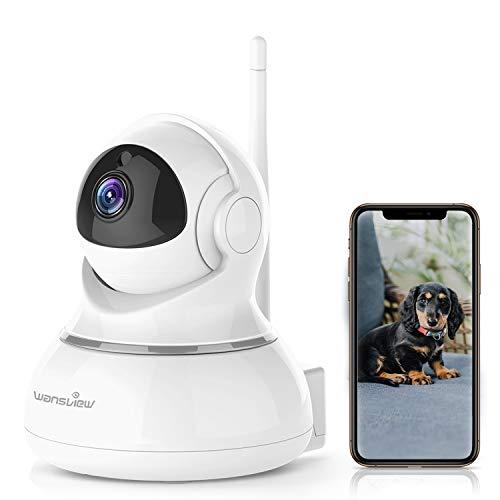 Caméra ip Sans Fil Wansview, Caméra Surveillance Wifi, Caméra Bébé, Caméra Sécurité de Animal de...