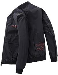 Cappotti Giubbotto Primavera Abiti Larghi Abbigliamento Sportivo Uomo  Giacche Uomo Vestiti Belli Ultra-Sottile Abbigliamento 95548801ef8