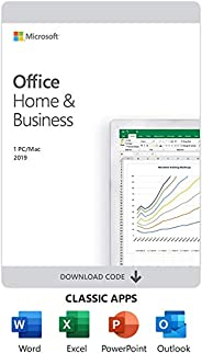 Microsoft T5D-03332 Office Home and Business 2019, Perpetual License, English, Middle East Version, 1 License