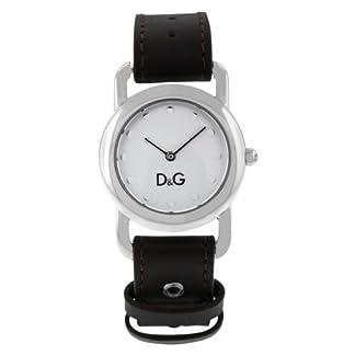 D&G Dolce&Gabbana DW0641 – Reloj analógico de mujer de cuarzo con correa de piel negra