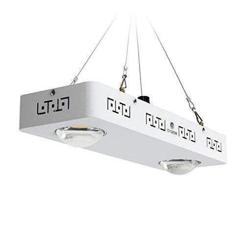 COB LED Grow Light, CF GROW Lamparas LED Cultivo Cree CXB3590 200W 48000LM Full Spectrum para Interior,Invernadero,Hydroponic Planta Crecimiento