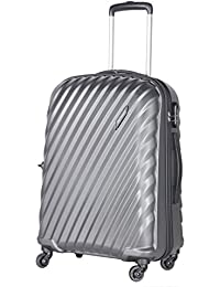 23d7107c431b Aristocrat Target 65Cm Unisex Polycarbonate Medium Trolley Bag-TARGET65MGP  (Grey)